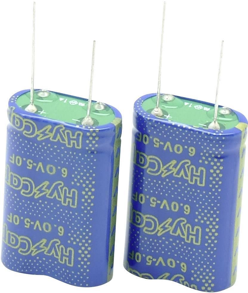 Dvouvrstvý kondenzátor VINATech VEC6R0505QGI, 5 F, 6 V, (d x š x v) 21 x 10.5 x 32 mm, 1 ks