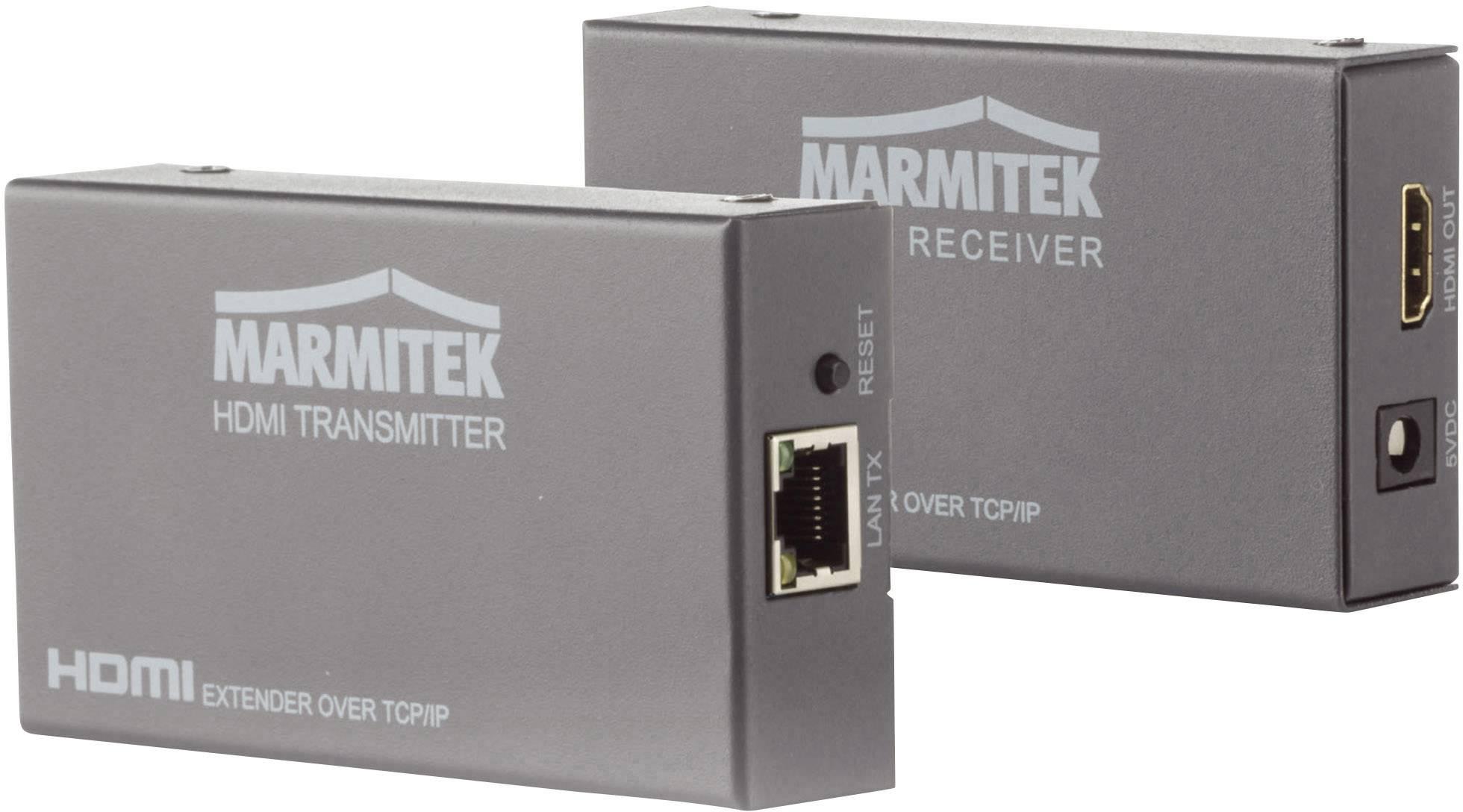 HDMI™ extender (prodloužení) přes síťový kabel RJ45, Marmitek MegaView 90, 120 m, N/A