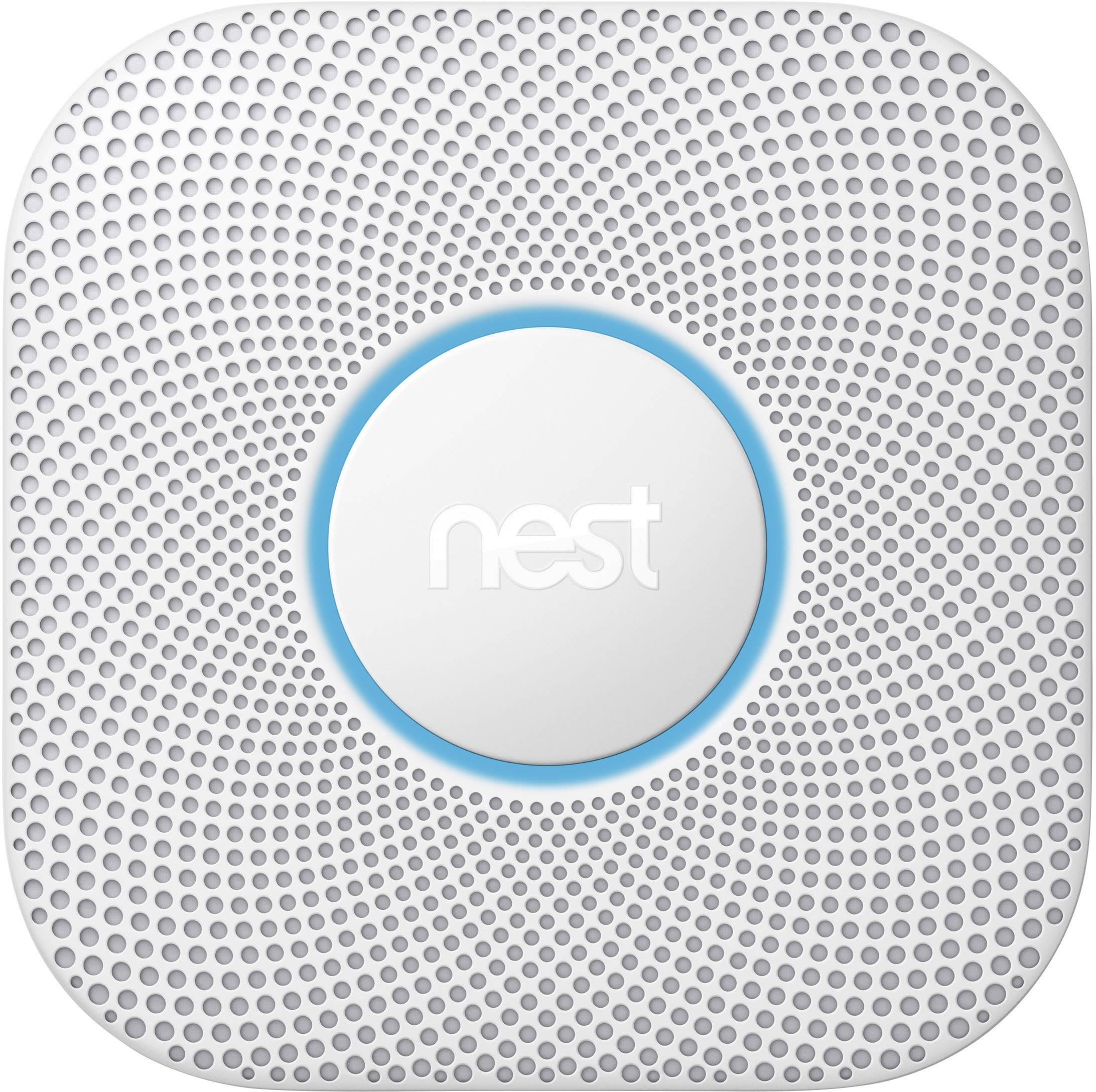 Inteligentný bezdrôtový detektor dymu a oxidu uhoľnatého (CO) Google Nest Protect