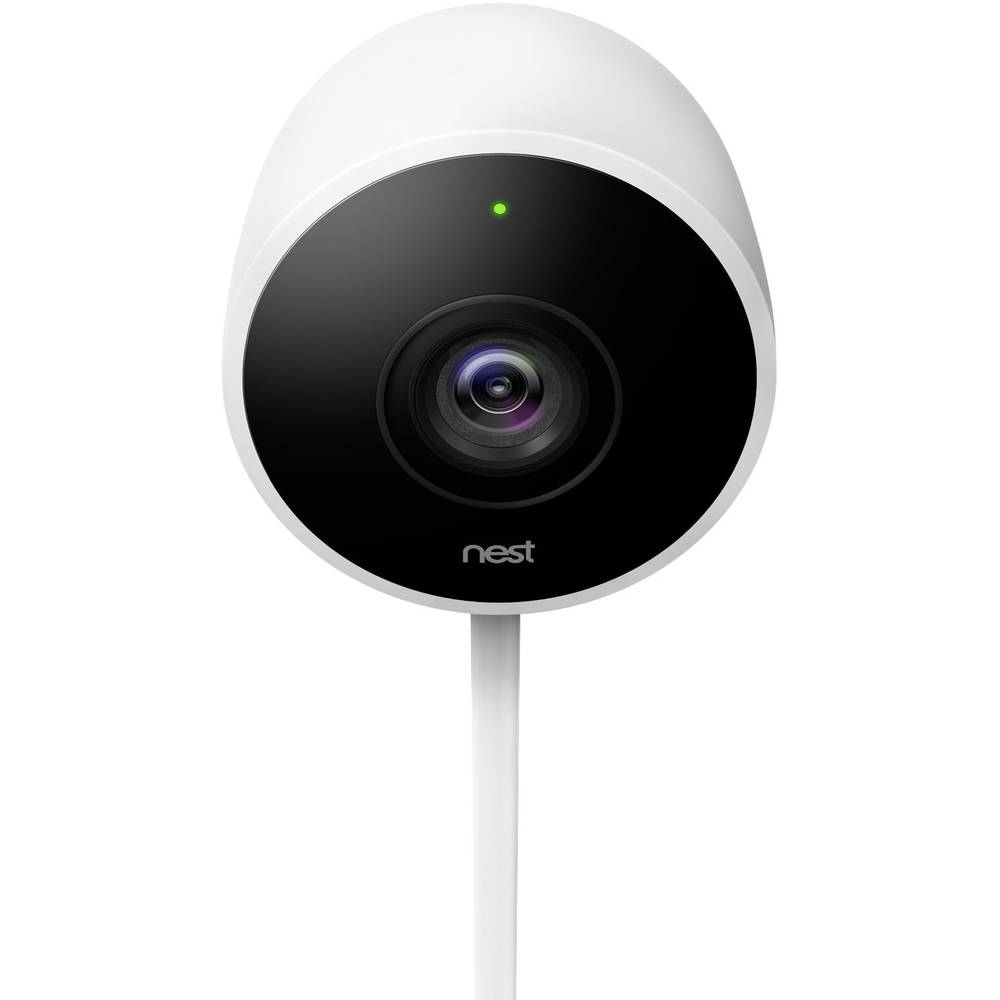 bezpe nostn kamera vonkaj ia google nest cam outdoor. Black Bedroom Furniture Sets. Home Design Ideas