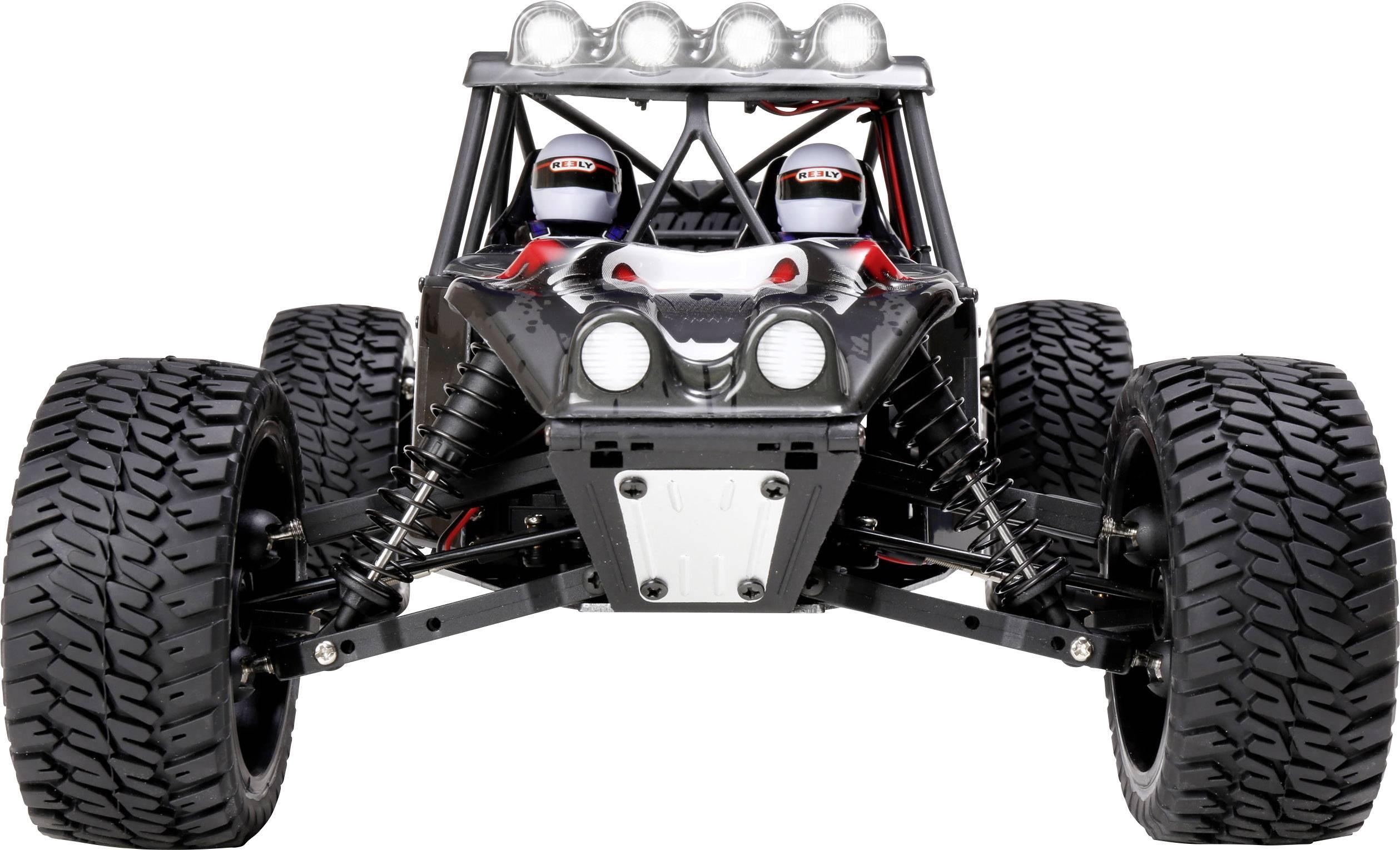 RC model auta Buggy Reely Dune Fighter 3S, střídavý (Brushless), 1:10, 4WD (4x4), RtR, 60 km/h