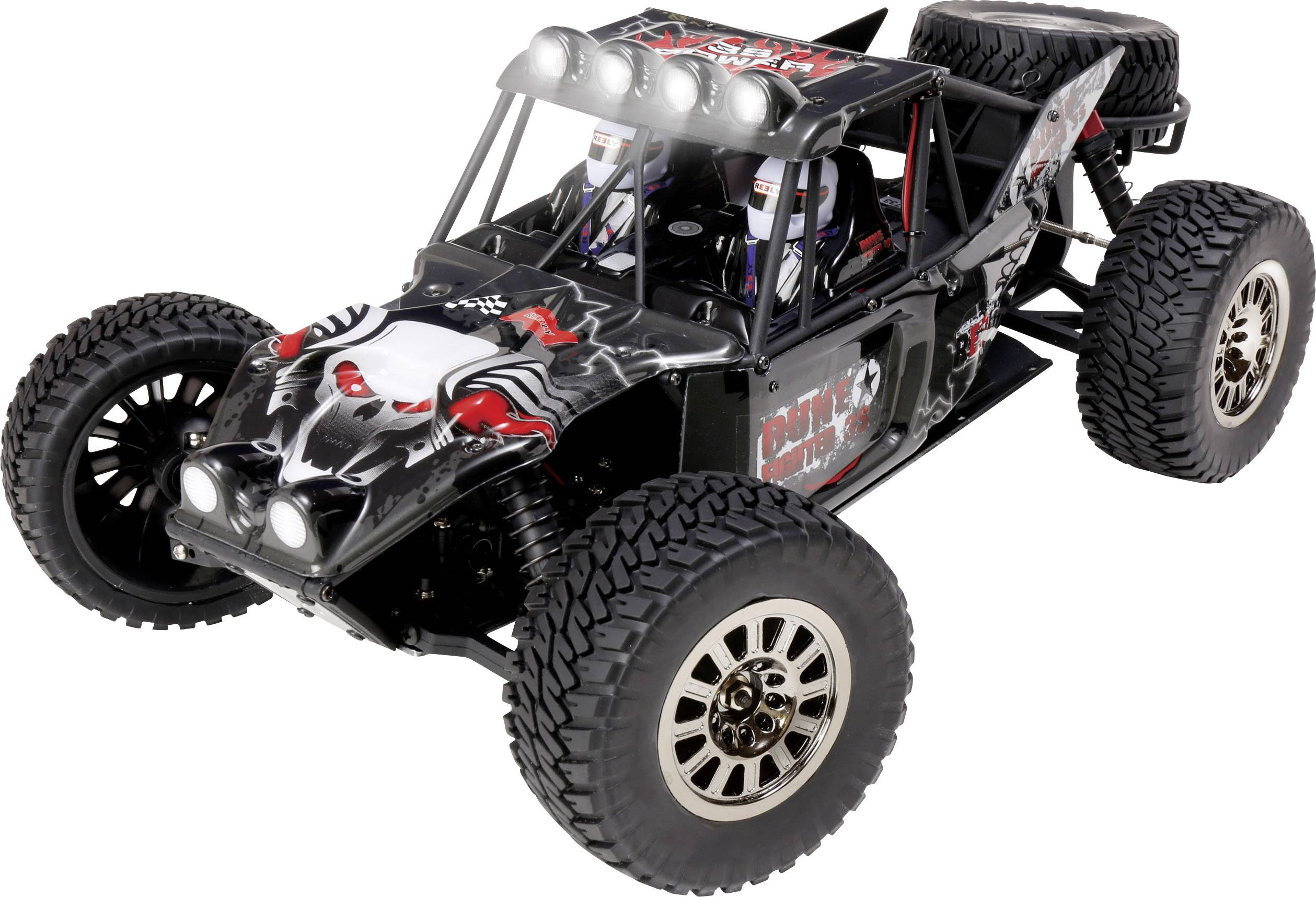 RC model auta buggy Reely Dune Fighter 3S, bezkefkový, 1:10, 4WD (4x4), RtR, 60 km/h