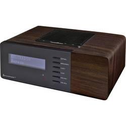 Radiobudík soundmaster UR180DBR, DAB+, FM, AUX, tmavě hnědá