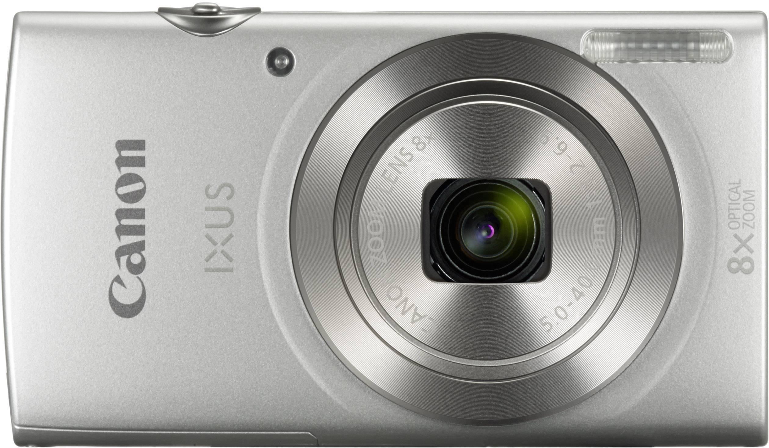 Digitální fotoaparát Canon IXUS 185, 20 MPix, Zoom (optický): 8 x, stříbrná