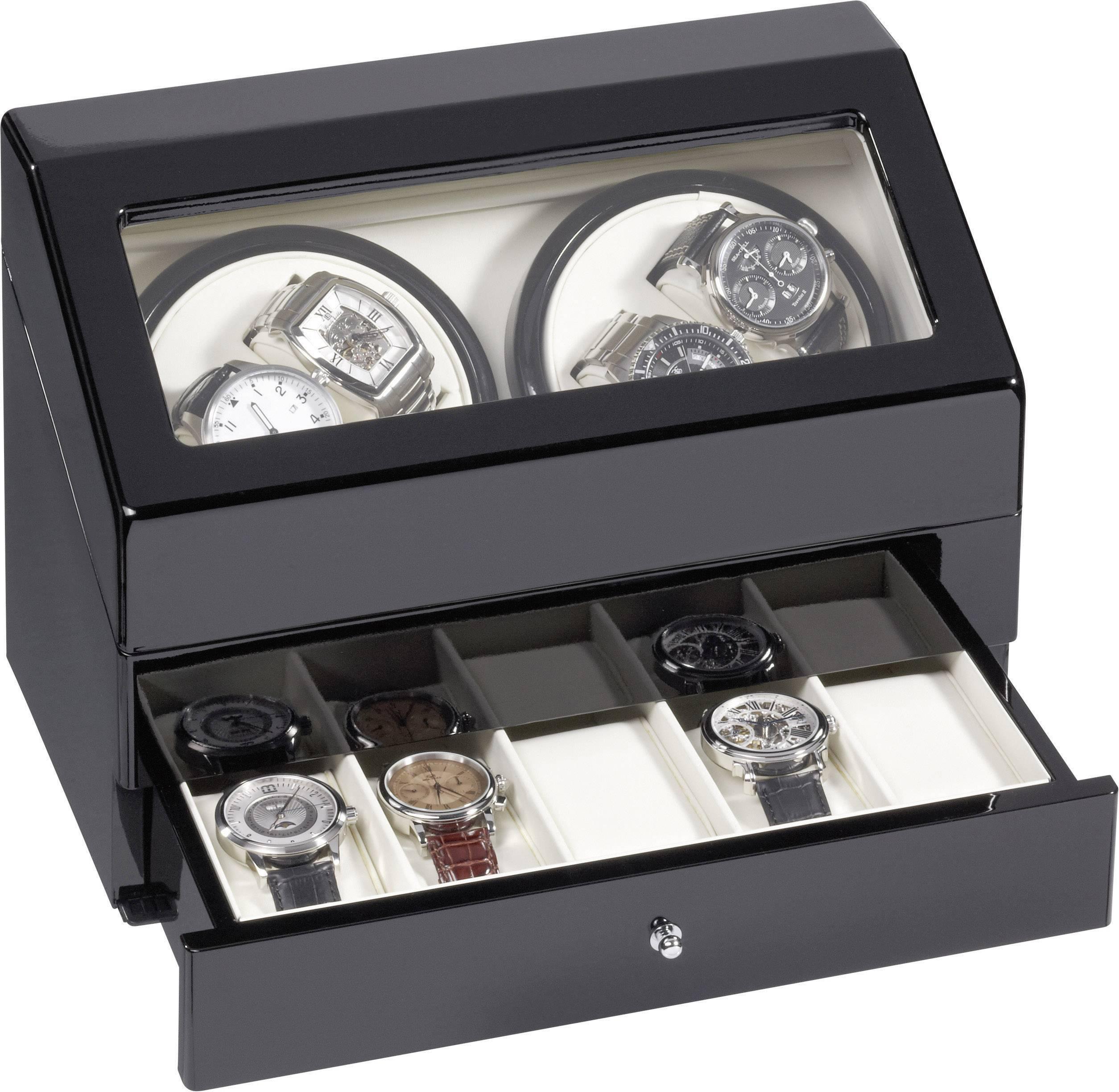 Stojan s natahovačem hodinek Eurochron KA074 vhodný pro 4 hodinky