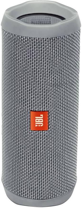 Vodotěsný Bluetooth® reproduktor JBL Flip 4, šedá, IPX7