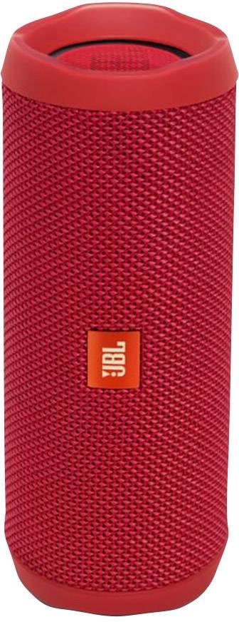 Vodotesný Bluetooth® reproduktor JBL Flip 4, červená, IPX7