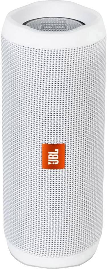 Vodotěsný Bluetooth® reproduktor JBL Flip 4, bílá, IPX7