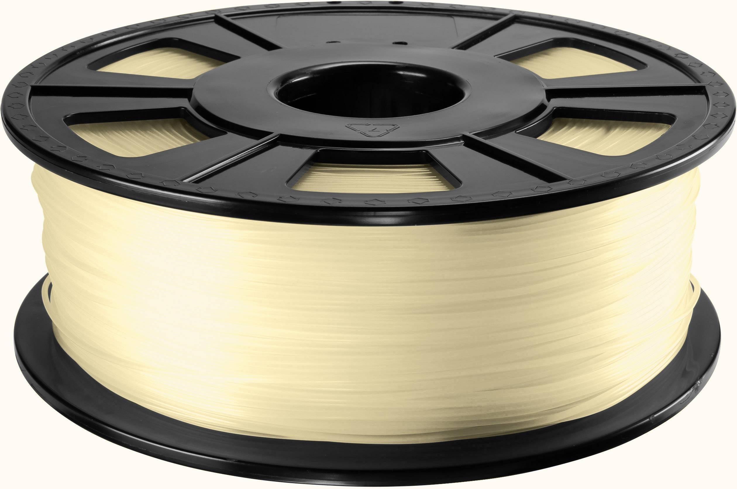 Vlákno pre 3Dtlačiarne, Renkforce 01.04.12.1201, ABS plast , 2.85 mm, 1 kg, prírodná