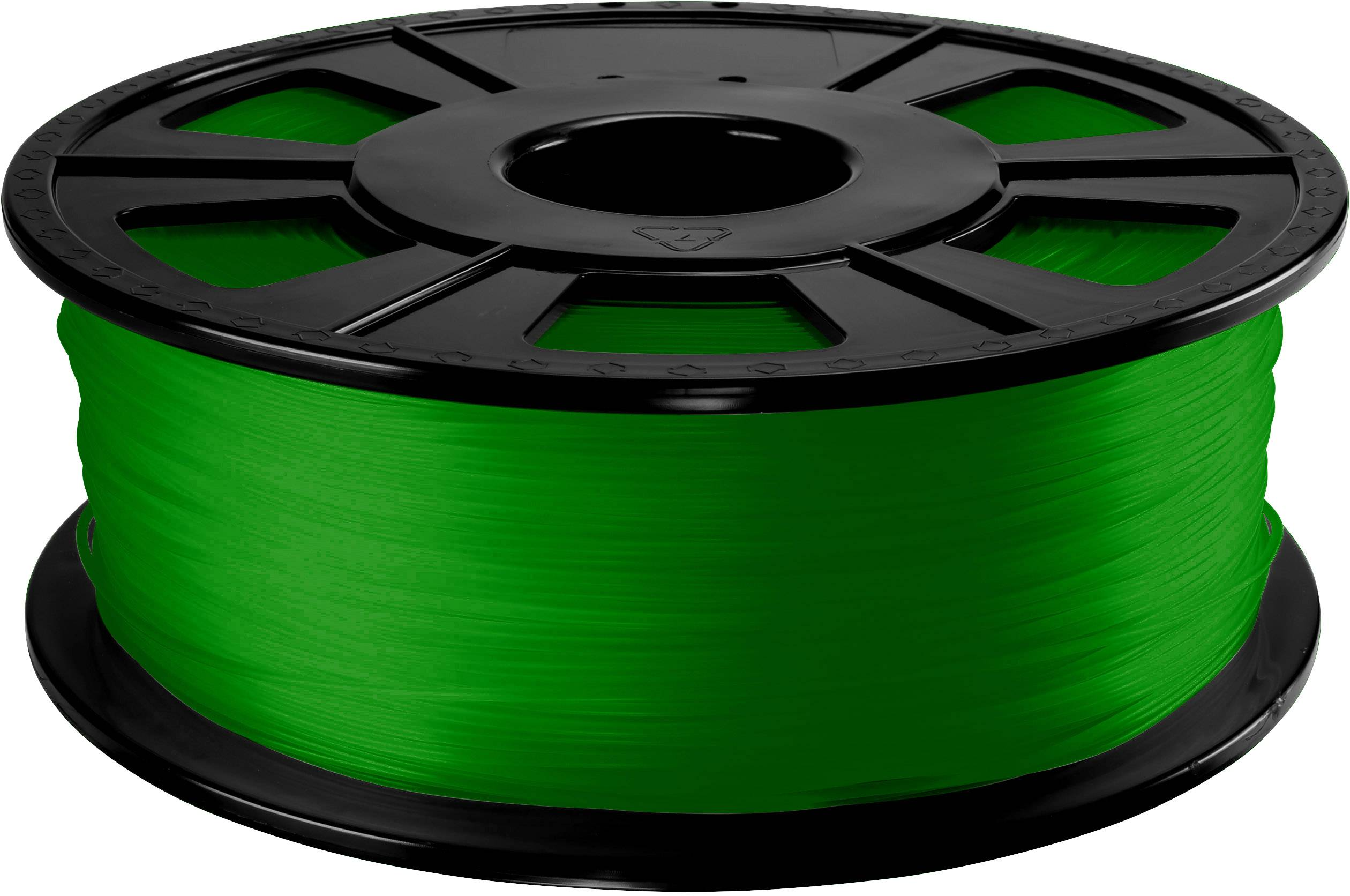 Vlákno pro 3D tiskárny Renkforce 01.04.12.1209, ABS plast, 2.85 mm, 1 kg, zelená