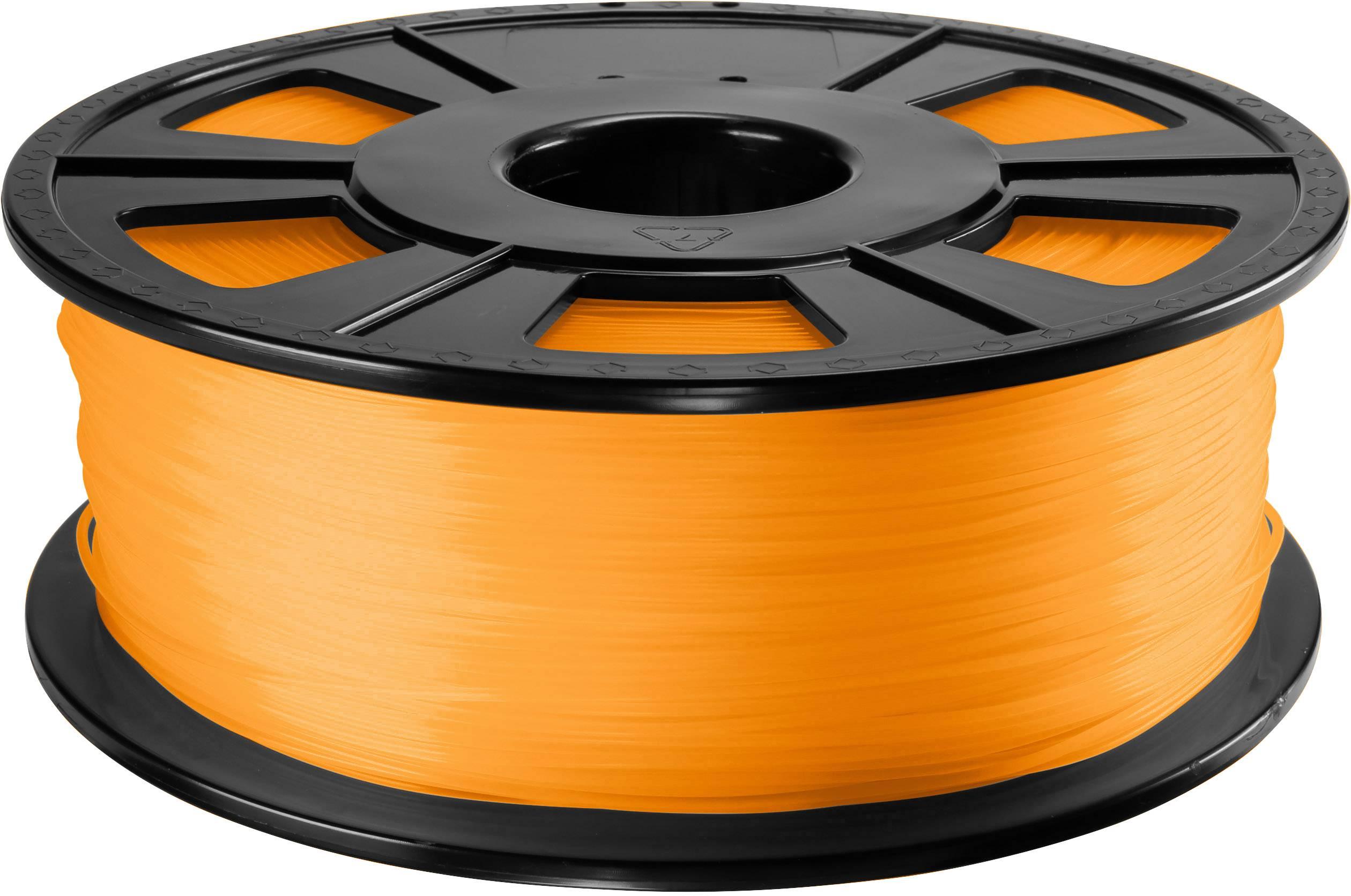 Vlákno pre 3Dtlačiarne, Renkforce 01.04.12.1211, ABS plast , 2.85 mm, 1 kg, oranžová