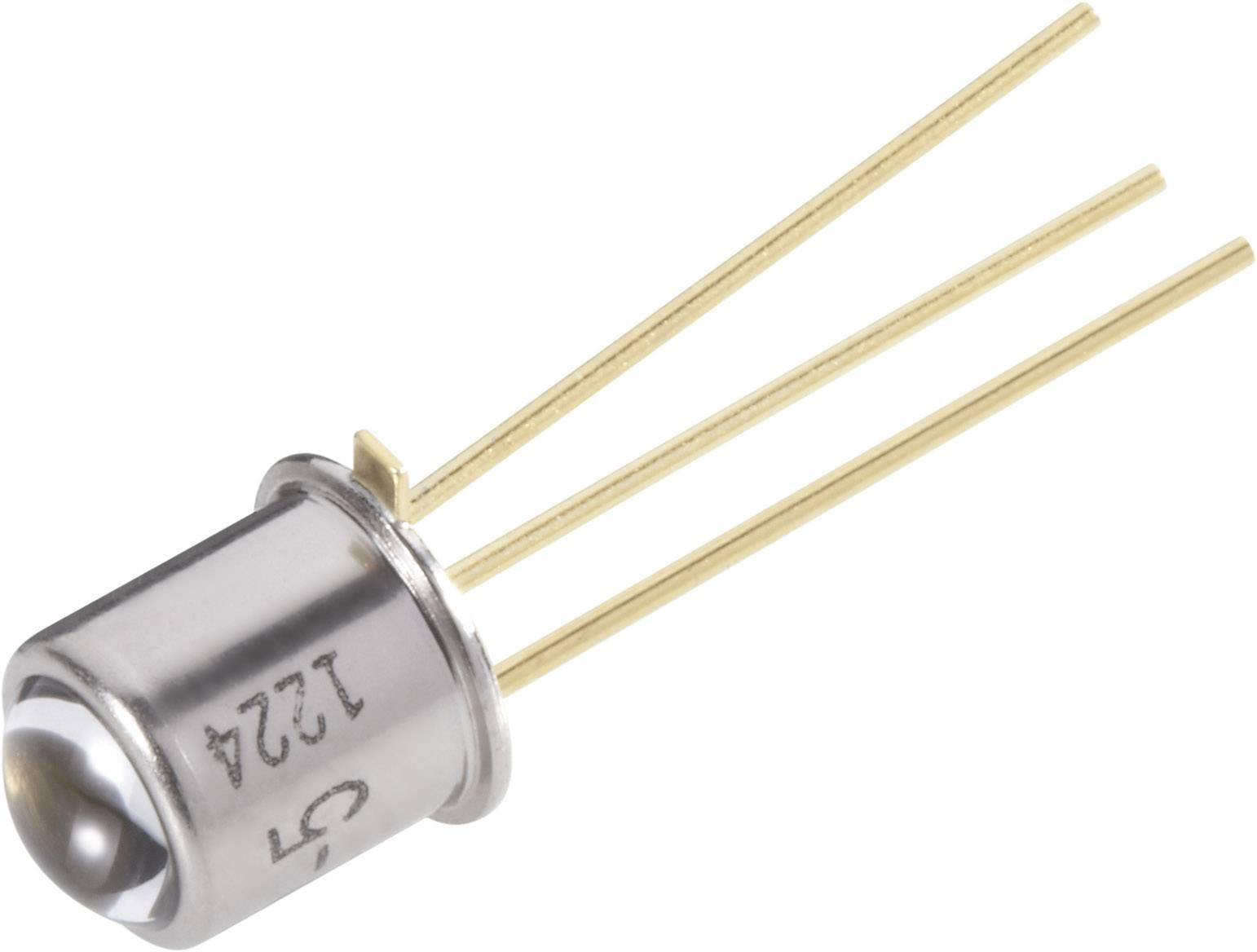 Fototranzistor Osram Components, BPY 62, 1130 nm, 8 °