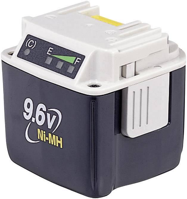 Náhradní akumulátor pro elektrické nářadí, Makita BH9020A 193590-1, 9.6 V, 2 Ah, Ni-MH