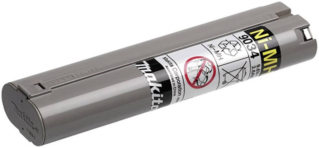Náhradní akumulátor pro elektrické nářadí, Makita 9034 193889-4, 9.6 V, 2.5 Ah, Ni-MH