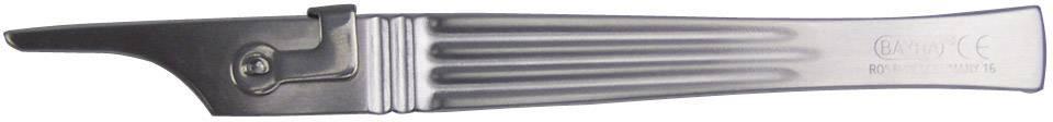 Skalpelová rukojeť č. 1 Bayha 60578, délka 130 mm, nerezová ocel