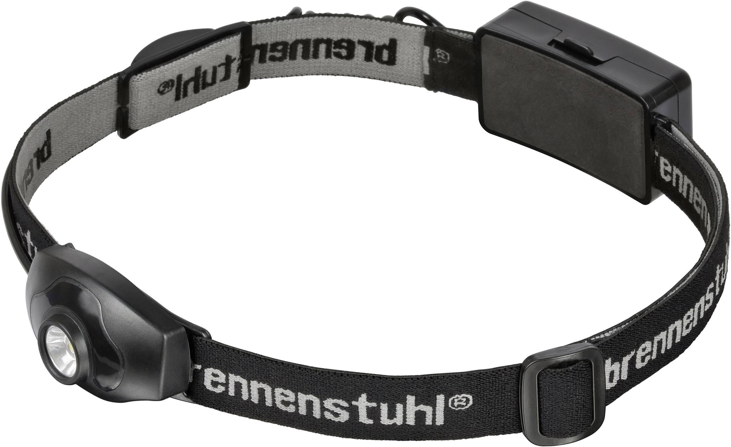 LED čelovka Brennenstuhl LuxPremium KL 100 1178760, na baterii, 143 g, černá, šedá