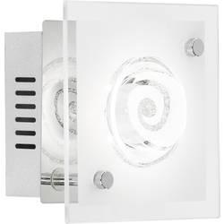 LED nástenné svetlo WOFI Tyra 4105.01.01.6000, 4 W, teplá biela, chróm