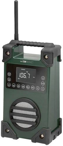 FM outdoorové rádio Clatronic BR 836, AUX, USB, UKW, zelená