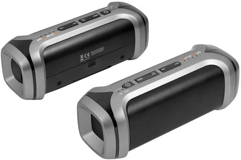 Bluetooth® reproduktor Technaxx PowerBank Soundstation BT-X16 AUX, FM rádio, hlasitý odposluch, SD, čierna