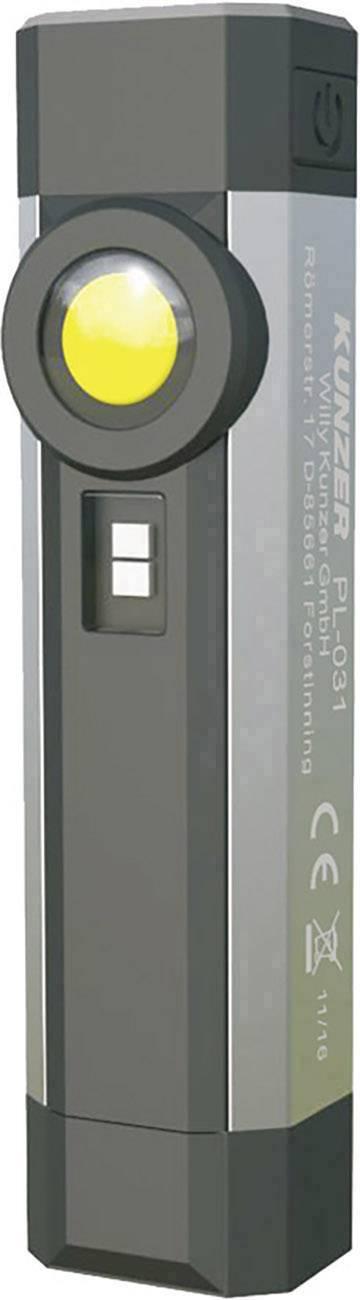 LED pracovné osvetlenie s UV lampou Kunzer PL-031, napájanie z akumulátora
