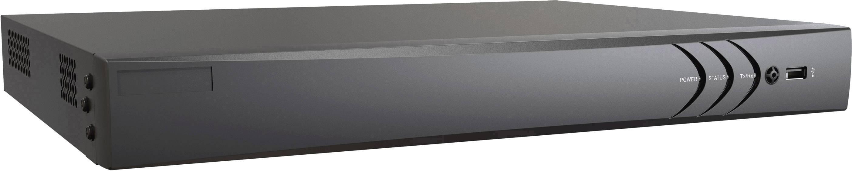 Sieťový IP videorekordér (NVR) pre bezp.kamery HiWatch DS-N616-16P DS-N616-16P, 16-kanálový