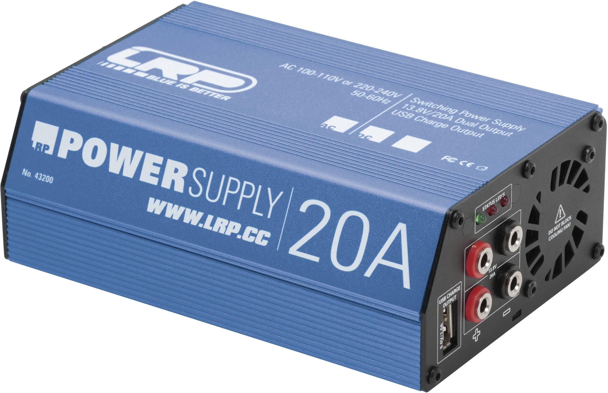 Síťový zdroj pro modeláře LRP Electronic Competition 43200, 110 V/AC, 230 V/AC, 20 A