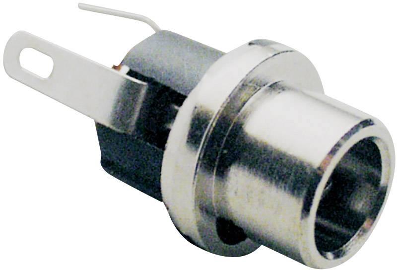 Nízkonapěťový konektor BKL Electronic 072782, zásuvka, vestavná vertikální, 5.7 mm, 2.1 mm, 1 ks