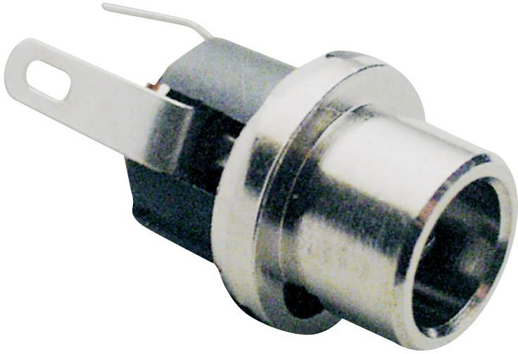 Nízkonapěťový konektor BKL Electronic 072783, zásuvka, vestavná vertikální, 5.7 mm, 2.5 mm, 1 ks