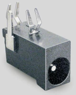 Nízkonapěťový konektor BKL Electronic 072715, zásuvka, vestavná horizontální, 4.5 mm, 1.3 mm, 1 ks