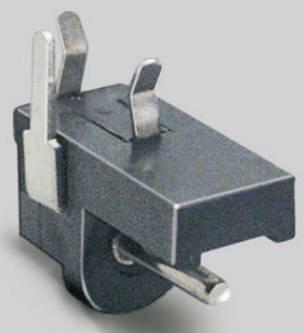 Nízkonapěťový konektor BKL Electronic 072718, zásuvka, vestavná horizontální, 1.3 mm, 1 ks