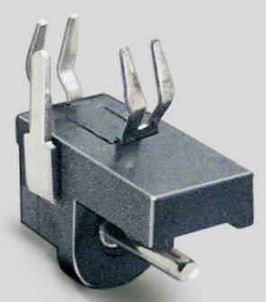 Nízkonapěťový konektor BKL Electronic 072719, zásuvka, vestavná horizontální, 1.3 mm, 1 ks