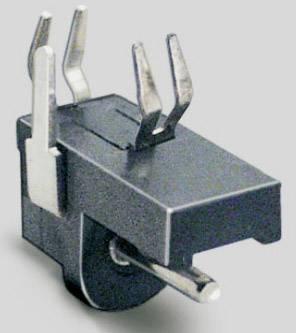 Nízkonapěťový konektor BKL Electronic 072720, zásuvka, vestavná horizontální, 1.3 mm, 1 ks