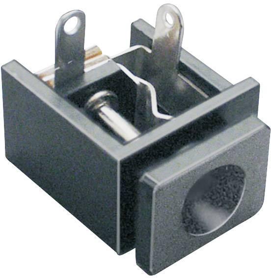 Nízkonapěťový konektor BKL Electronic 072729, zásuvka, vestavná horizontální, 5.6 mm, 2.5 mm, 1 ks