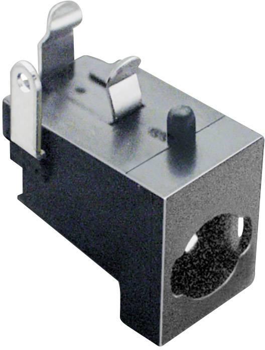 Nízkonapěťový konektor BKL Electronic 072825, zásuvka, vestavná horizontální, 5.85 mm, 2.1 mm, 1 ks