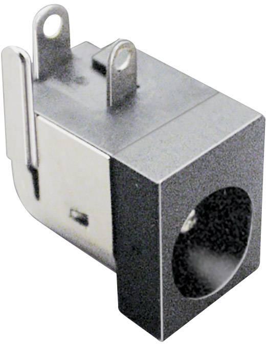 Nízkonapěťový konektor BKL Electronic 072832, zásuvka, vestavná horizontální, 6.3 mm, 2.5 mm, 1 ks