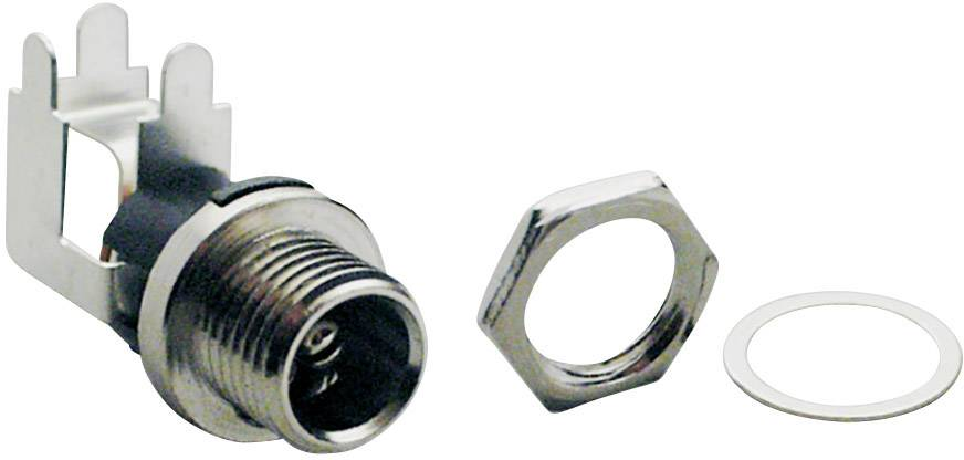 Nízkonapěťový konektor BKL Electronic 072859, zásuvka, vestavná horizontální, 5.7 mm, 2.5 mm, 1 ks