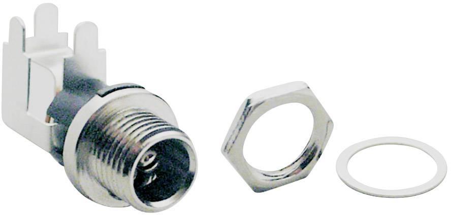 Nízkonapěťový konektor BKL Electronic 072867, zásuvka, vestavná horizontální, 5.7 mm, 2.5 mm, 1 ks