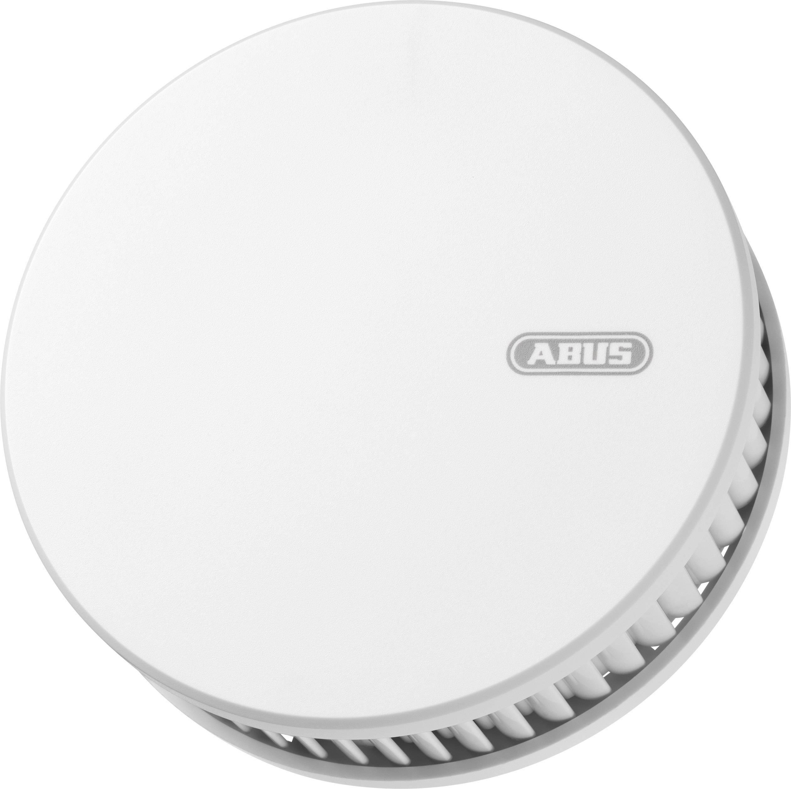 Bezdrátový detektor kouře a vysokých teplot ABUS RWM450, vč. baterie s životností 12 let , vč. magnetického upevnění, možnost vzájemného propojení