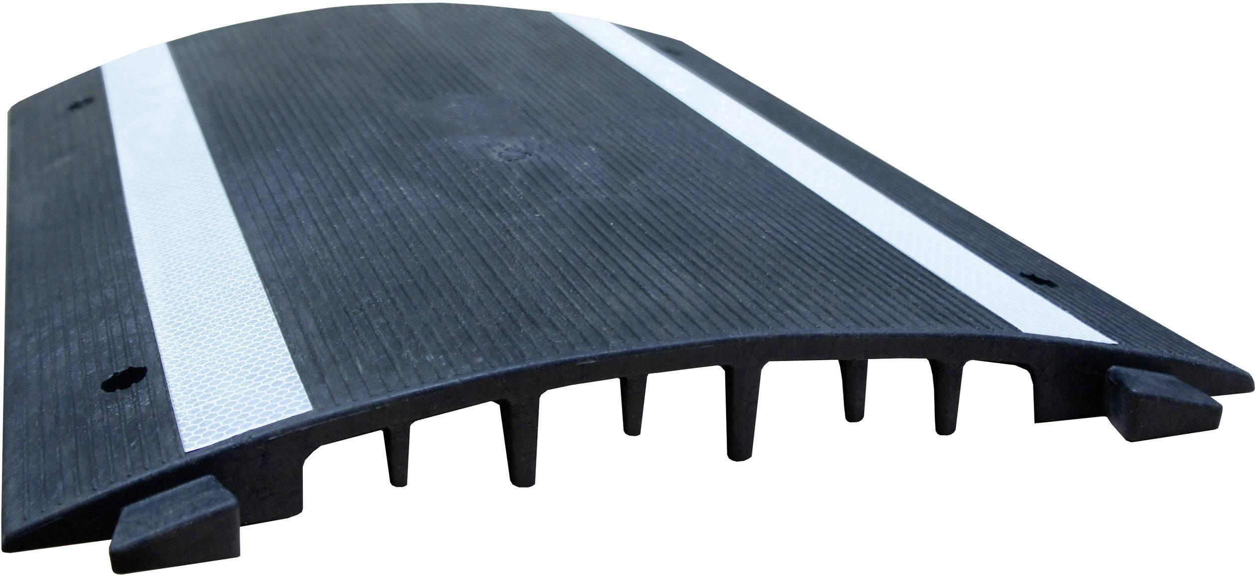 Kabelový můstek VISO (d x š x v) 500 x 400 x 40 mm, černá, 1 ks