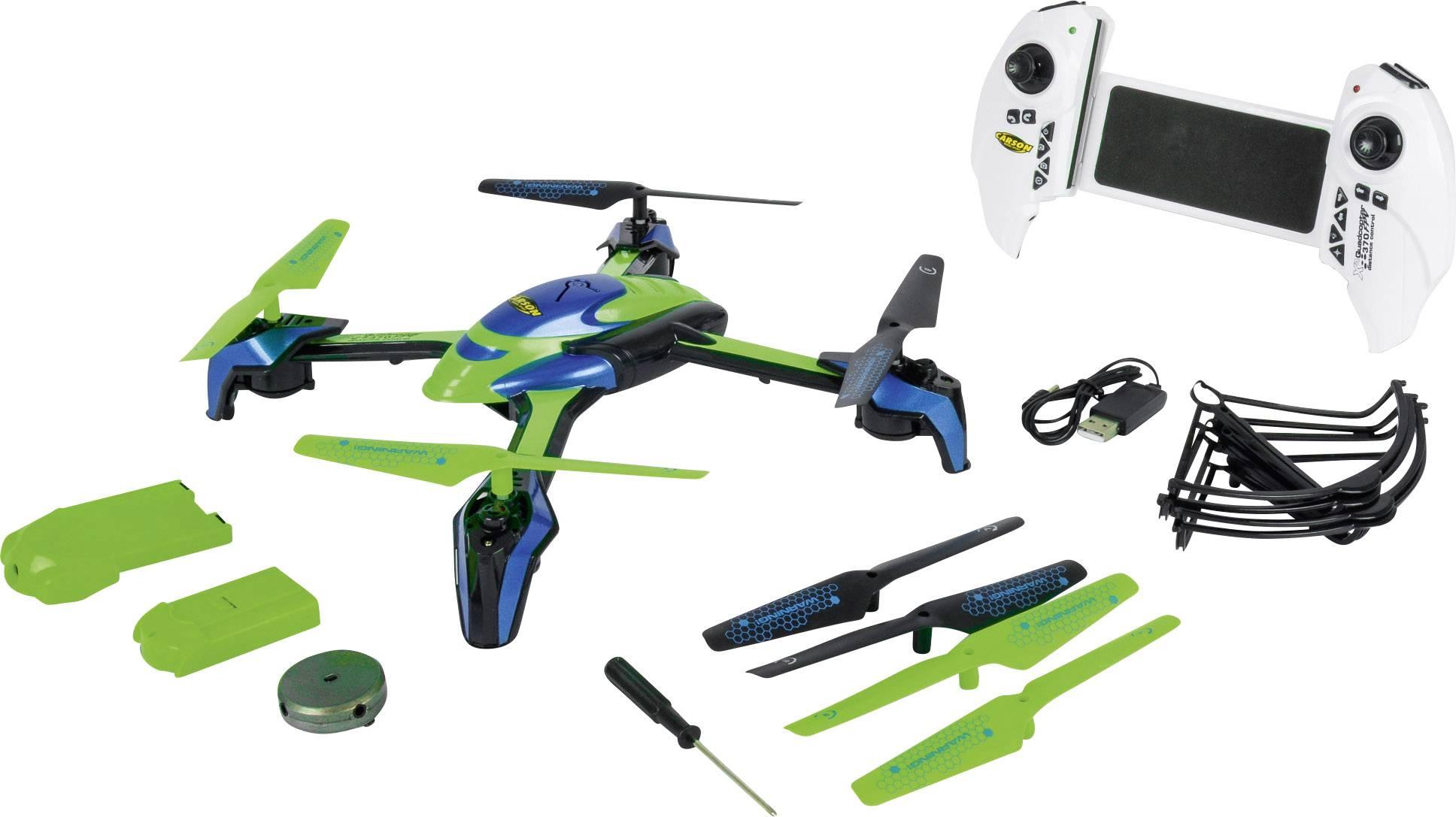 Dron Carson Modellsport X4 Distance Control, RtF, FPV