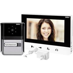 Kabelový domovní video telefon GEV Sophia 88665, černá, bílá, antracitová