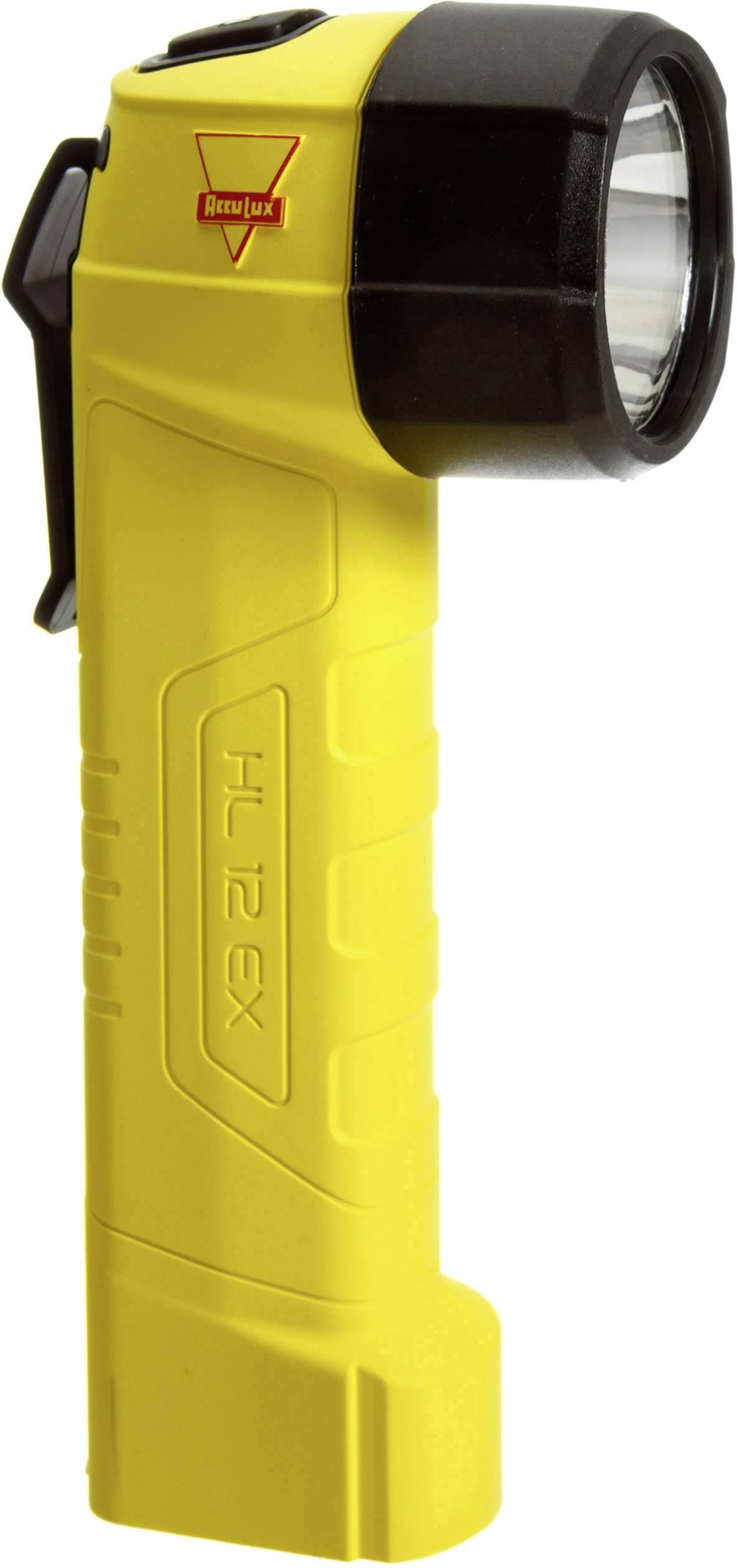 Bezpečnostné vreckové svietidlo (baterka) do extrémních podmínek AccuLux 449421, IP67, žltá