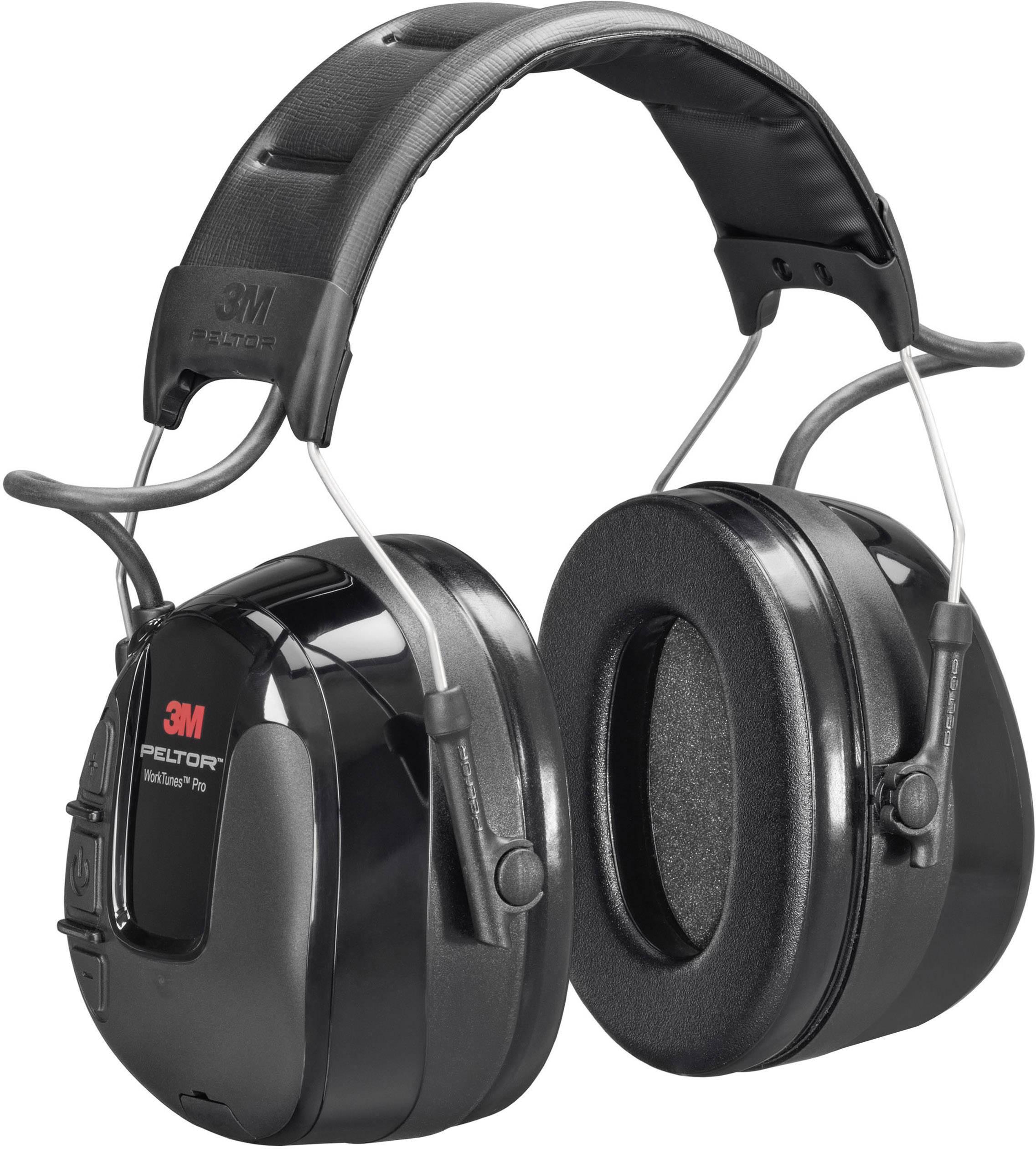 Headset s mušlovými chrániči sluchu 3M Peltor WorkTunes Pro HRXS220A, 32 dB, 1 ks