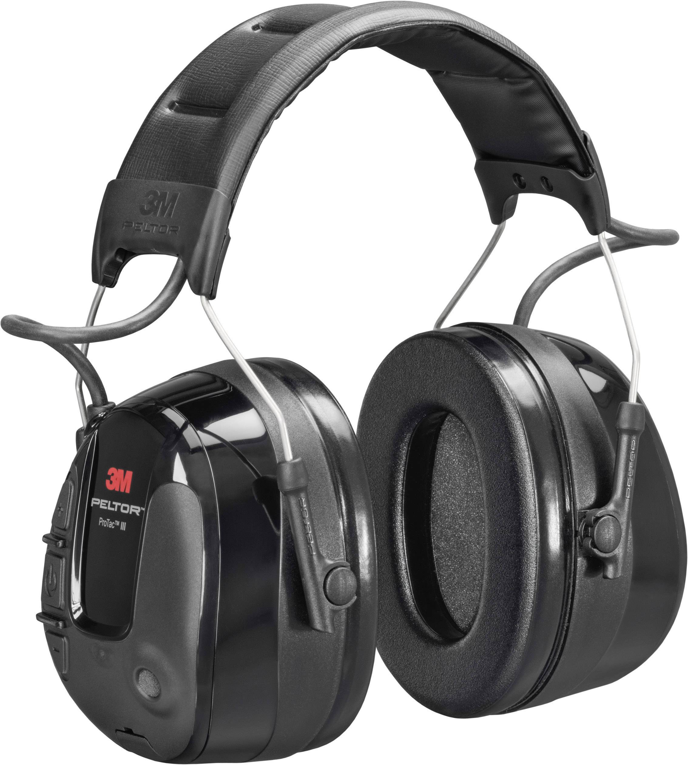 Mušlový chránič sluchu proti impulzním zvukům 3M Peltor ProTac III MT13H221A, 32 dB, 1 ks