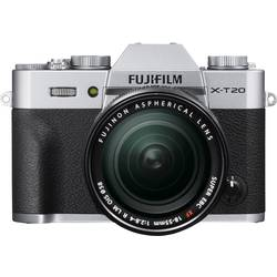 Systémový fotoaparát Fujifilm X-T20, 24.3 MPix, černostříbrná