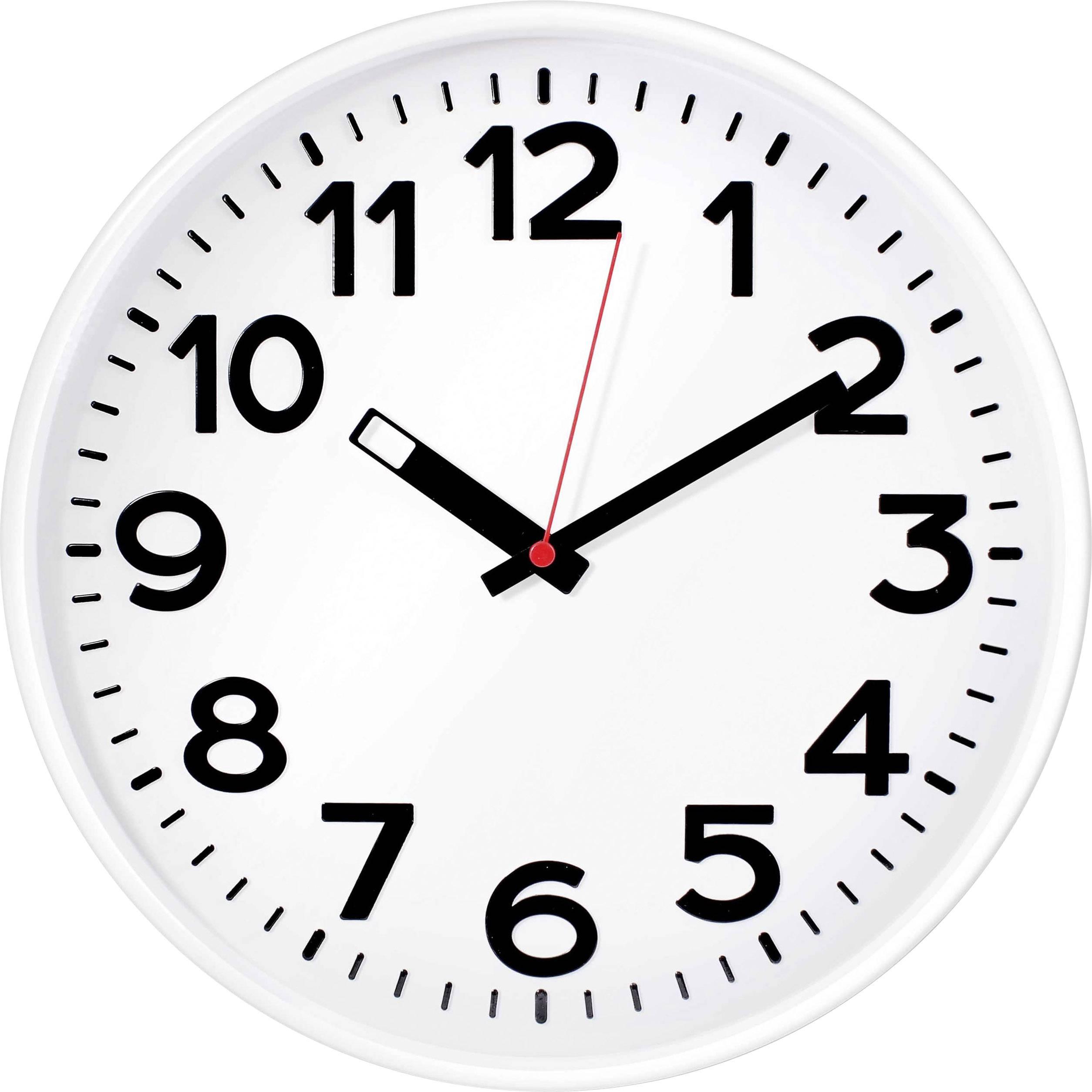 Quartz nástěnné hodiny EUROTIME 82321 bílá