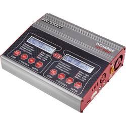 Modelárska multifunkčná nabíjačka VOLTCRAFT V-Charge 200 Duo 1539603, 12 V, 230 V, 10 A