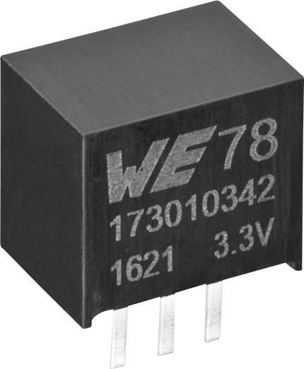 DC/DC měnič napětí do DPS Würth Elektronik 173010342, 3.3 V, 1 A, 3.3 W, počet výstupů 1 x