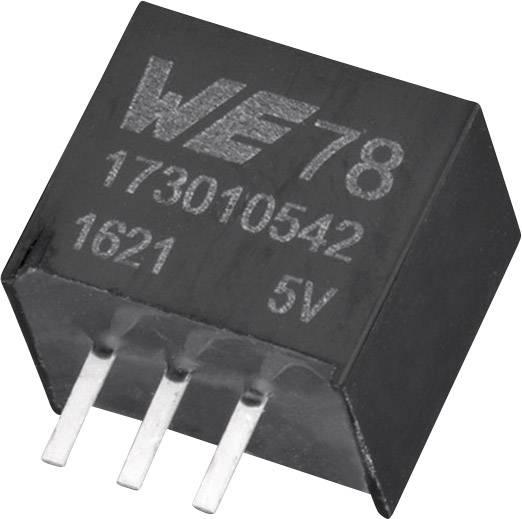 DC/DC měnič napětí do DPS Würth Elektronik 173010542, 5 V, 1 A, 5 W, počet výstupů 1 x