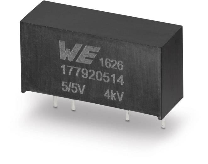 DC / DC menič napätia, DPS Würth Elektronik 177920514, 5 V, 5 V, 0.2 A, 1 W